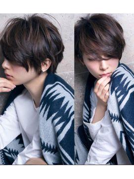 【池袋】ひし形ショート前髪長めとろみワンカール - 24時間いつでもWEB予約OK!ヘアスタイル10万点以上掲載!お気に入りの髪型、人気のヘアスタイルを探すならKirei Style[キレイスタイル]で。