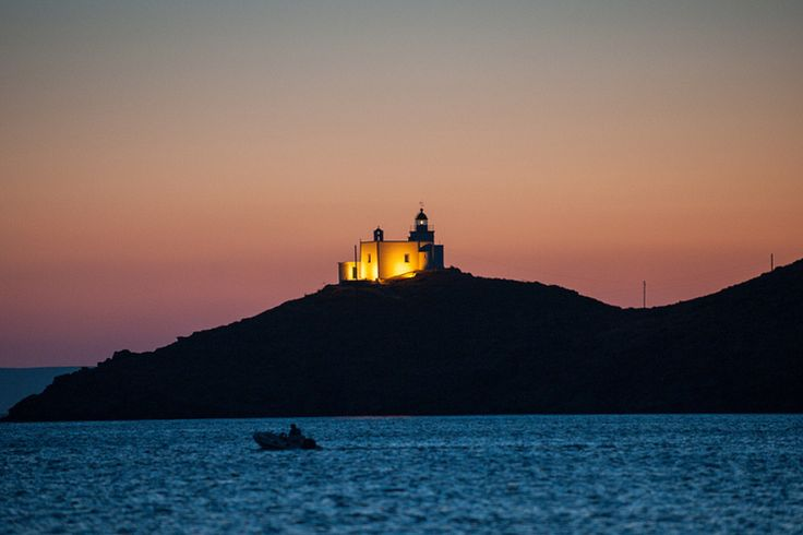 Agios Nikolaos Lighthouse, Kea Island, Greece