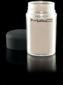 Mac Pigments are the BEST. They are very versatile, and the container is so big that it will last you forever. I use Vanilla, and Frozen White, to highlight my cheeks, and eyes. Just a bit under the outside corner of your brow, and a touch under your tear duct will make them POP!