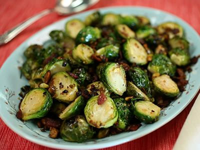 Sauteed Brussel Sprouts with Pistachios. Get recipe from the Kimberly's Simply Southern on Great American Country >> http://www.greatamericancountry.com/living/food/sauteed-brussels-sprouts-with-pistachios?soc=pinterest