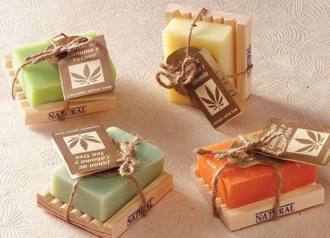 Jabón artesanal lindas etiquetas