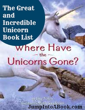 Wonderful Unicorn book list for kids from Jump Into a Book! Katarina has been asking for these for months