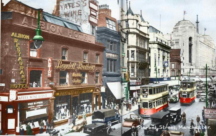 Market Street. Manchester