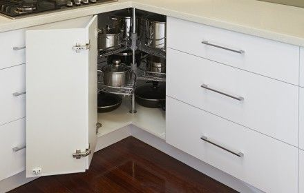 We are a Perth cabinet maker who designs with storage in mind.
