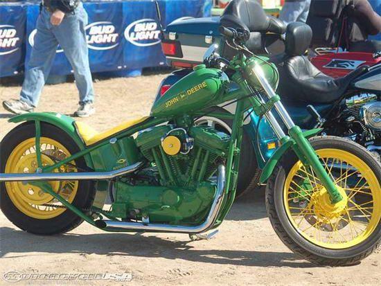 John Deere Chopper Motorcycle | Bucket List.. | Pinterest ...