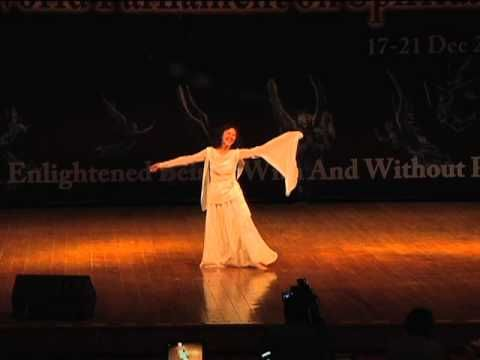 Dr.& Master Sha: Eli Ho dances at 1stWorld Parliament on Spirituality, Hydrabad, India