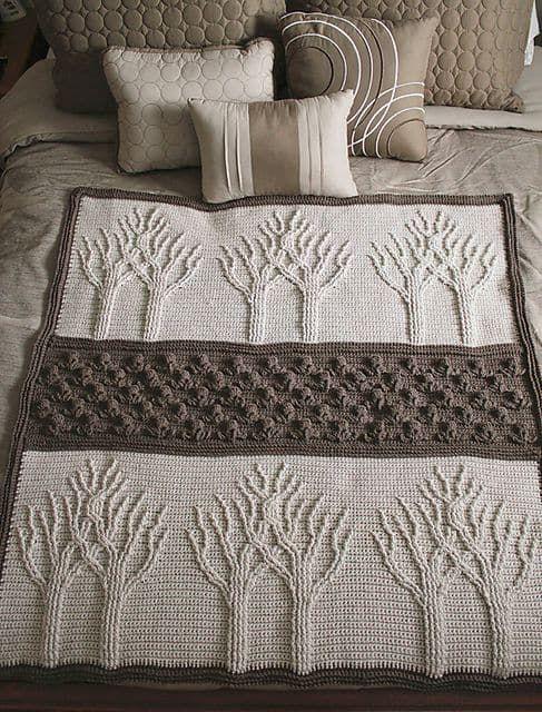 Tree of Life Crochet Afghan Pattern
