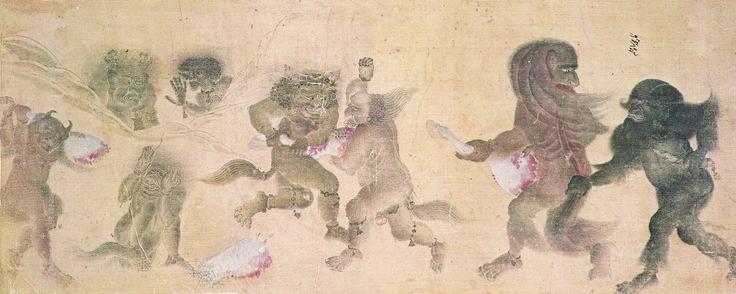 Topkapı Palace Museum Catalogue,Treasure 2153,s.40b,watercolor on cloth(Siyah Qalem).