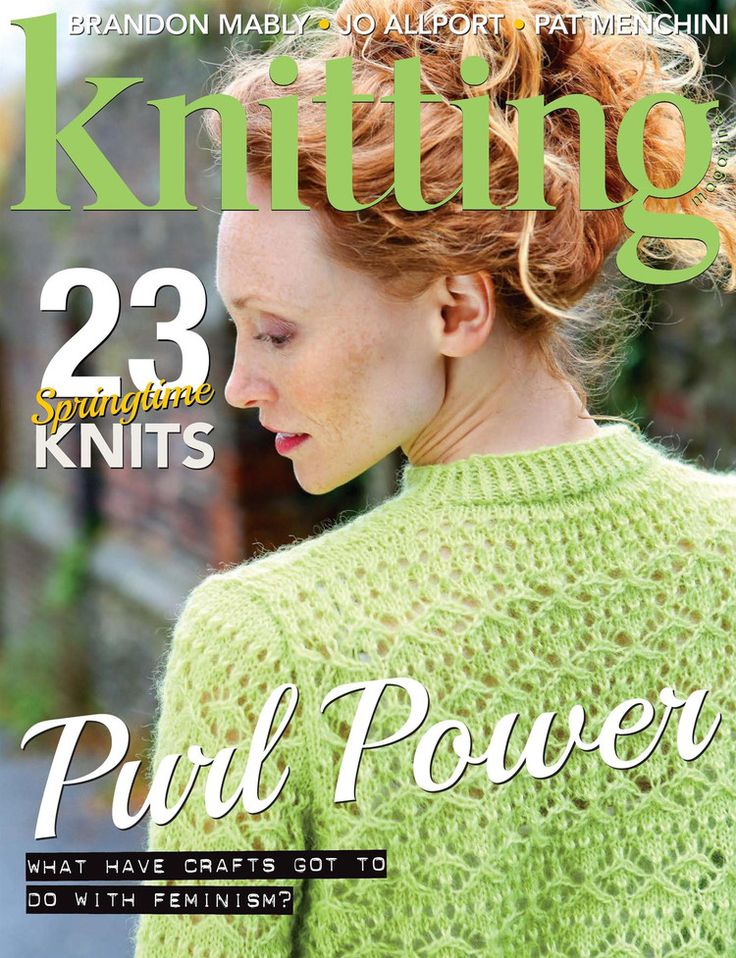 Knitting №166 April 2017 - 轻描淡写 - 轻描淡写