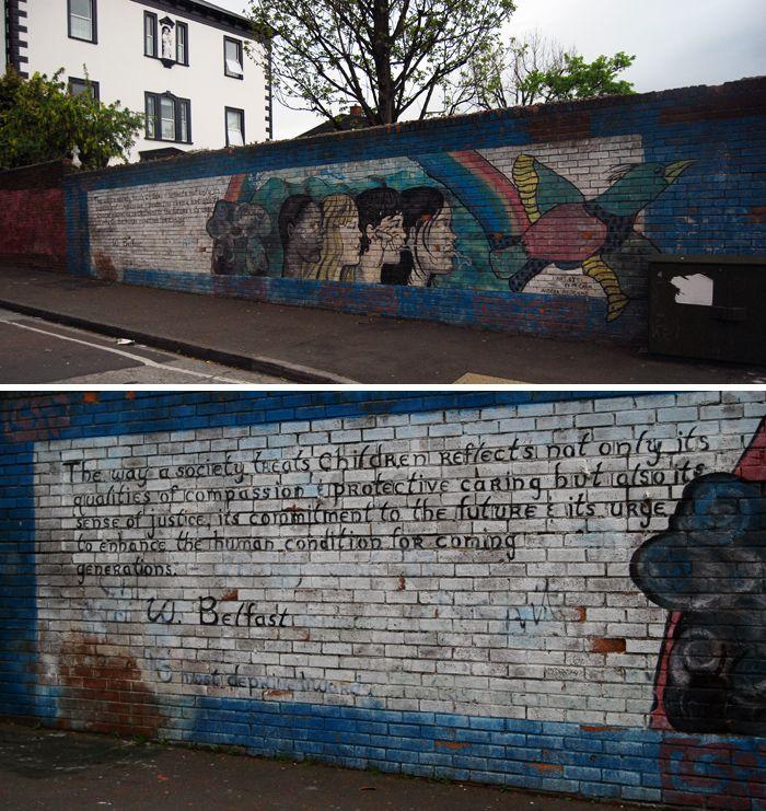 Belfast walls 1, Northern Ireland