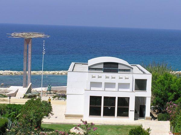 National Struggle Historic Site at Chloraka coast Saint George boat Museum