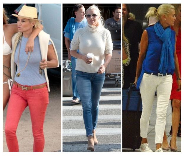Obsessed with Yolanda Foster's casual style