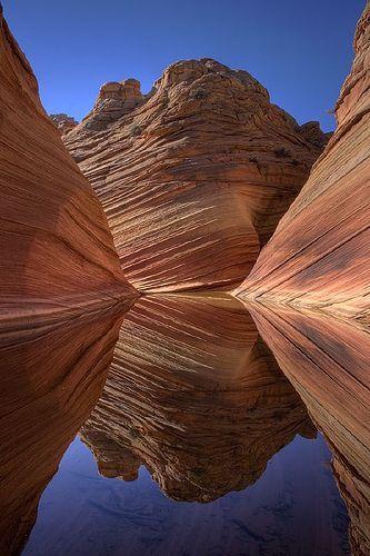 Paria Canyon On The Border Of Utah And Arizona.