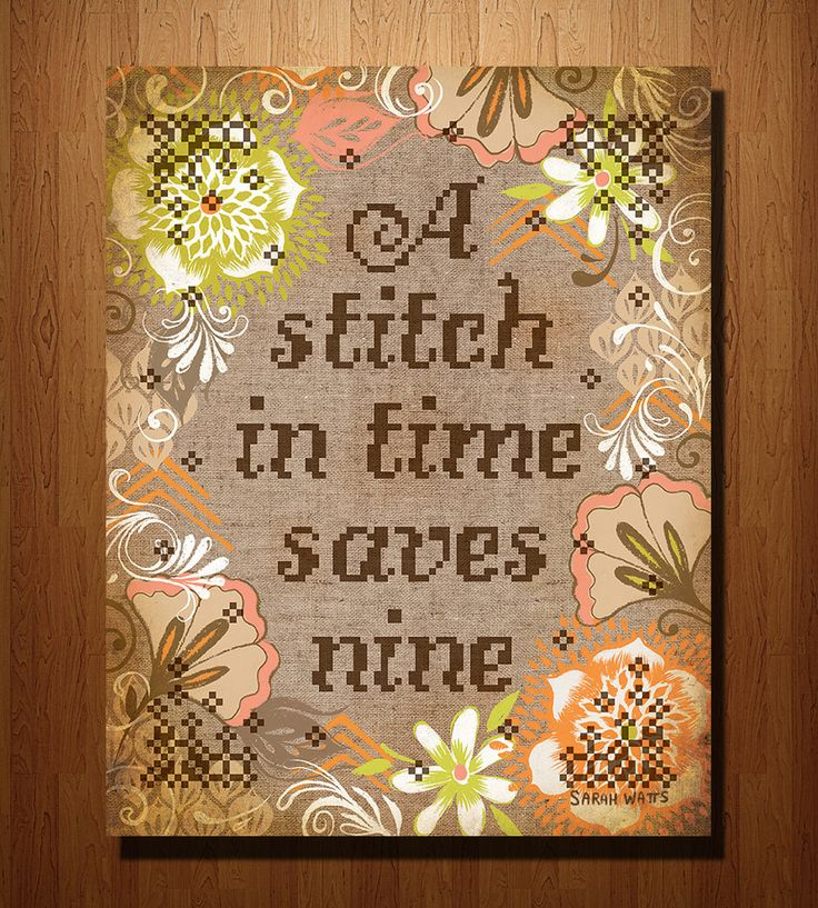 stitch in time saves nine