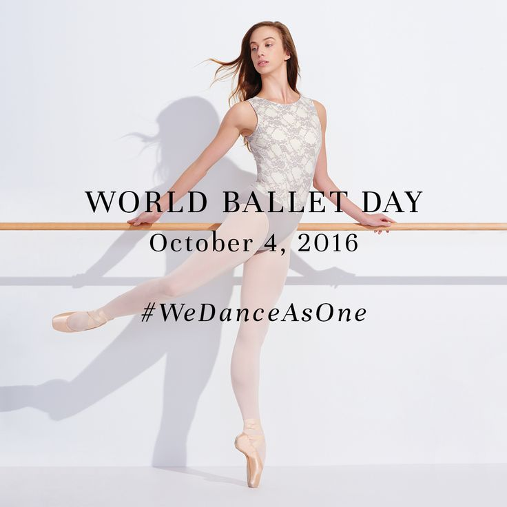 It's that time of year again! Want a chance to be featured for #WorldBalletDay? Upload your best ballet photos, tag @capezio and hashtag #WeDanceAsOne by October 4th! Best photos will appear on our pages! #CAPEZIO