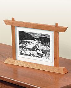Preview - Standing Frame Has Two Faces - Fine Woodworking Article