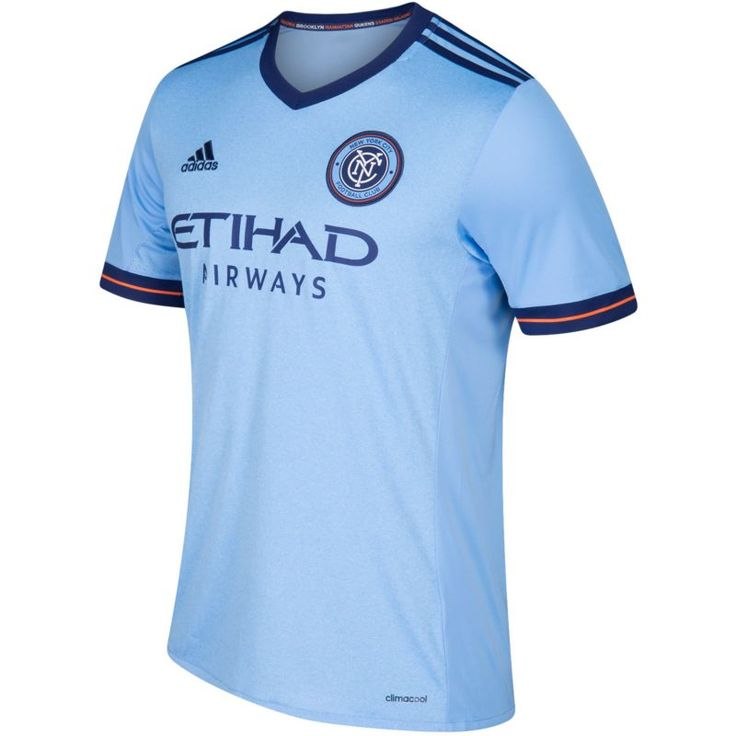 adidas Youth New York City FC Primary Replica Jersey, Size: Small