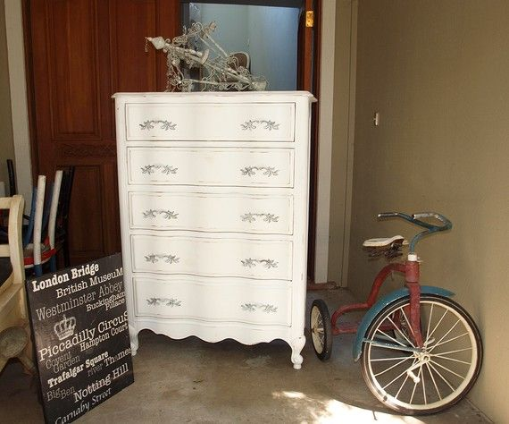 older dressers refinshed white shabby high boy dresser refinished 5 drawer dresser rue