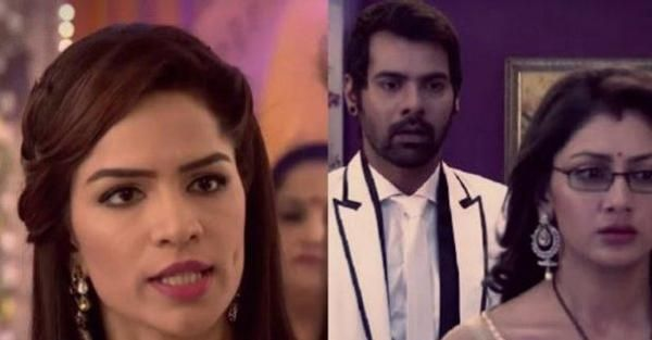 Zee TV Serial Kumkum Bhagya spoiler Aaliya plans to send Pragya in Jail. Aaliya accuses Pragya of eyeing Abhi's property and calls the cops to send Pragya in jail in Kumkum Bhagya.