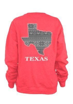 Pressbox  Texas Stockholm State Fleece