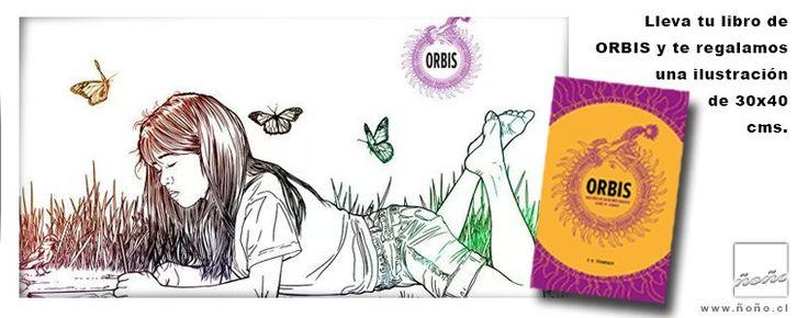 ORBIS. Historia de un mundo mágico. Tomo III. Libro 1. .---..-. -.-.-  ..--.-... .-.--.-...- -.-.--..----.. -...... .-.- -..- -. -. -.- . -.-.- ...-.- .-. .-  Orbis es una novela de fantasía que narra la historia de un mundo mágico y su misteriosa creadora: la Autora. 92 páginas. 21×14 cms.