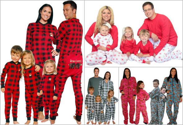 Family Christmas Pajamas in Lots of Styles from Sleepyheads.com!