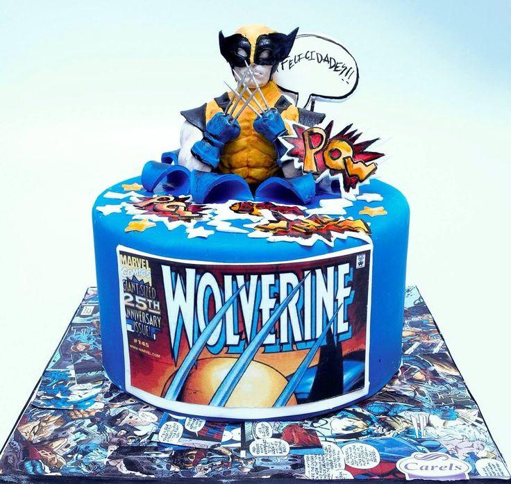 Best 25 Wolverine Cake Ideas On Pinterest 1 Birthday