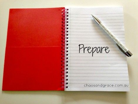 This week's word is two days late because I didn't want to listen to God. Here's what He taught me about PREPARE.