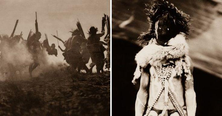 Nacido en una granja de Wisconsin en 1868, Edward Sheriff Curtis creció para convertirse en un fotógrafo comercial en Seattle. En 1895 el retrato en foto de Kikisoblu, también conocida como la Princesa Angeline, la hija del jefe Seattle, jefe de las tribus Duwamish. Ese encuentro encendería la fascinación de Curtis con las culturas y vidas de las tribus nativas Americanas. Rápidamente se unió a expediciones para visitar a tribus en Alaska y Montana.