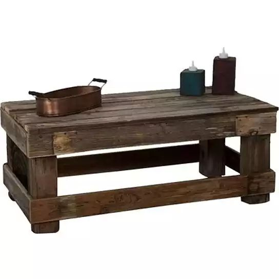 This barnwood coffee table is made from 100  reclaimed wood  The natural  barnwood color. Best 25  Barnwood coffee table ideas on Pinterest   Diy coffee