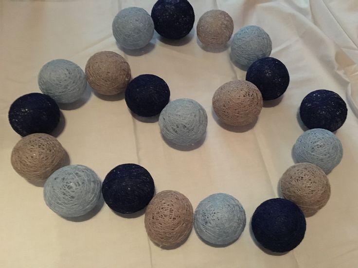 Blue grey navy blue  Looks so nice ! MOSCA #Cotton ball