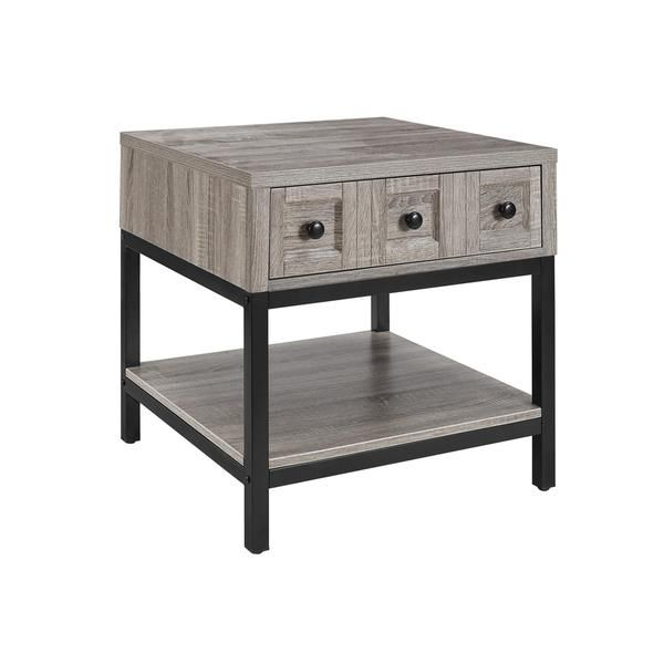 altra barrett modern farmhouse sonoma oak end table - Coffee Tables Target