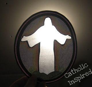 Transfiguration of Jesus ~ Craft - Catholic Inspired