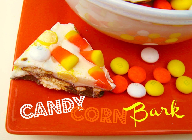 Cooking with K: Candy Corn Bark