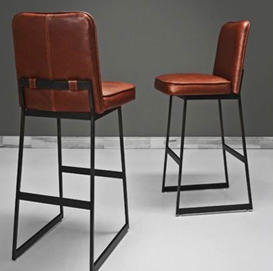 I have the hardest time finding bar stools that are unique. I came across the Organic Modernism bar stool while shopping for a rocking chair and was inspired to find similarly cool bar stools that would set the kitchen apart from an average kitchen.