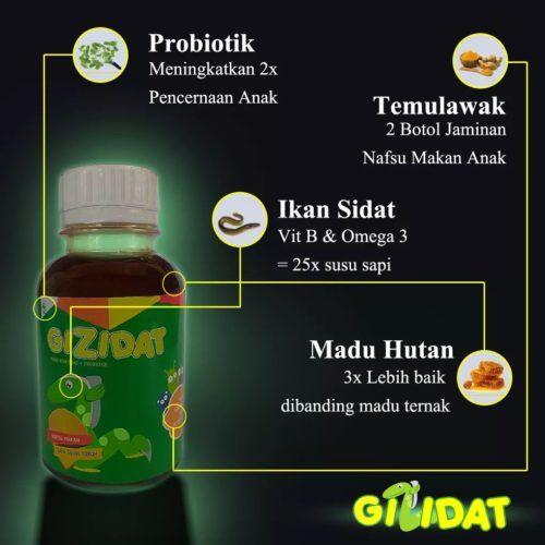 Mengapa Kandungan Gizidat berbeda dari vitamin lain? Ini lah alasannya bunda. Vitamin anak pertama yang menggunakan bahan ini. Apakah itu ???....