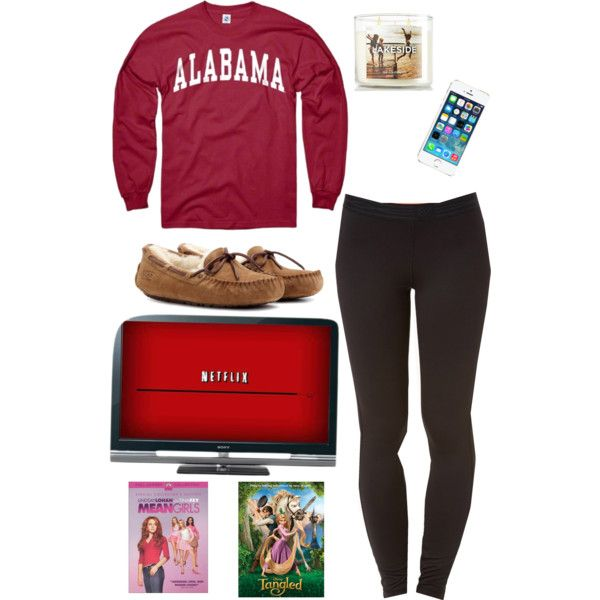Lazy day outfit but change sweater to Oklahoma State University or Henderson State