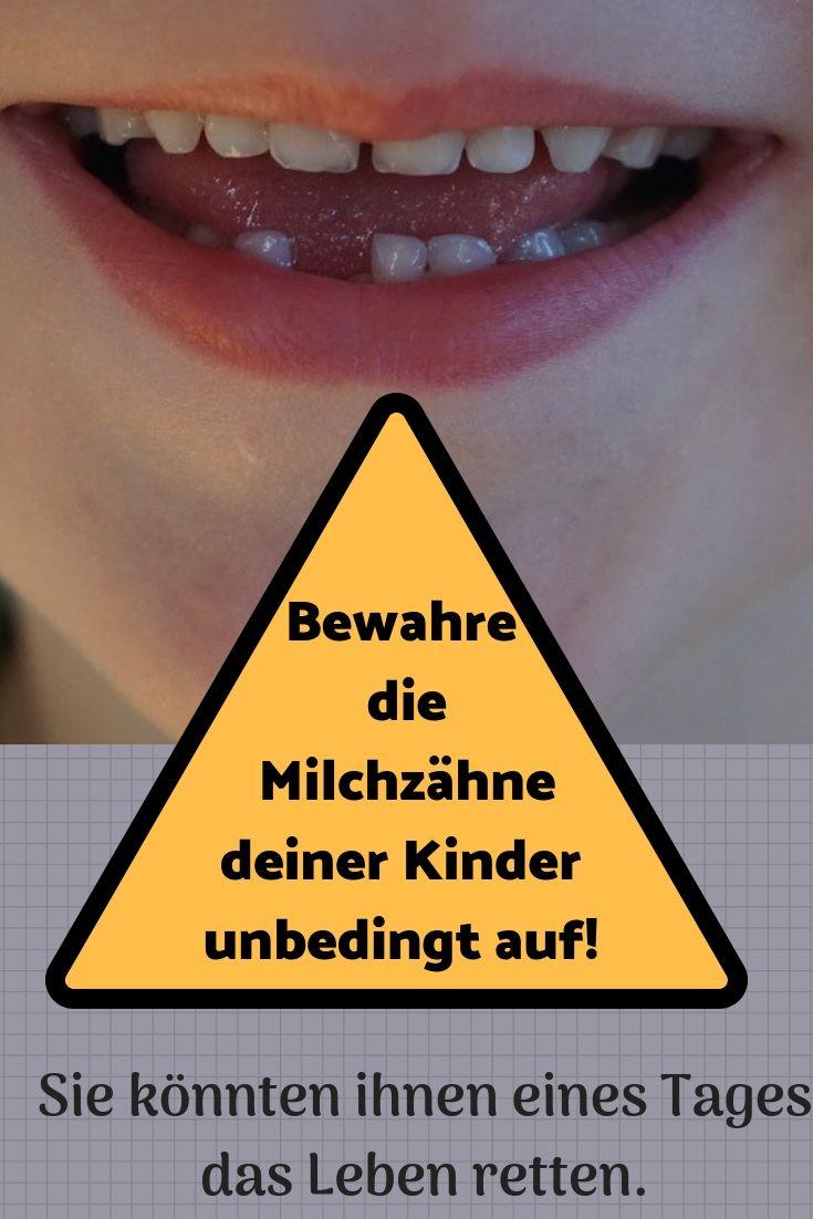 Nicht nur für die Zahnfee Wenn Kinder ihre Milchzähne zu verlieren, kann es f… Tipps und Tricks
