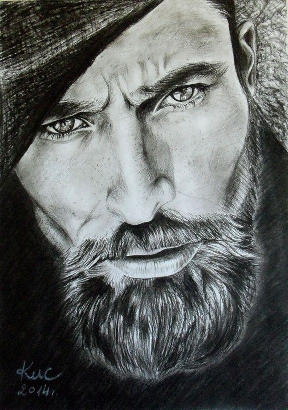 Tegne portretter av mennesker / dyr