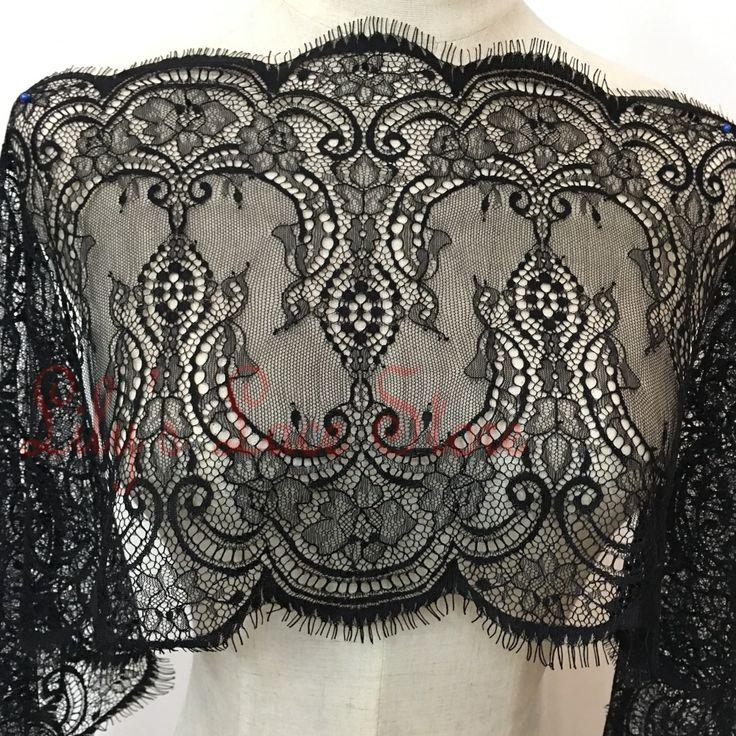 28 СМ широкий кружева обрезка черно-белые 15 ярдов/серия бесплатная доставка хорошо для свадебное платье свадебное платье свадебная фата швейные