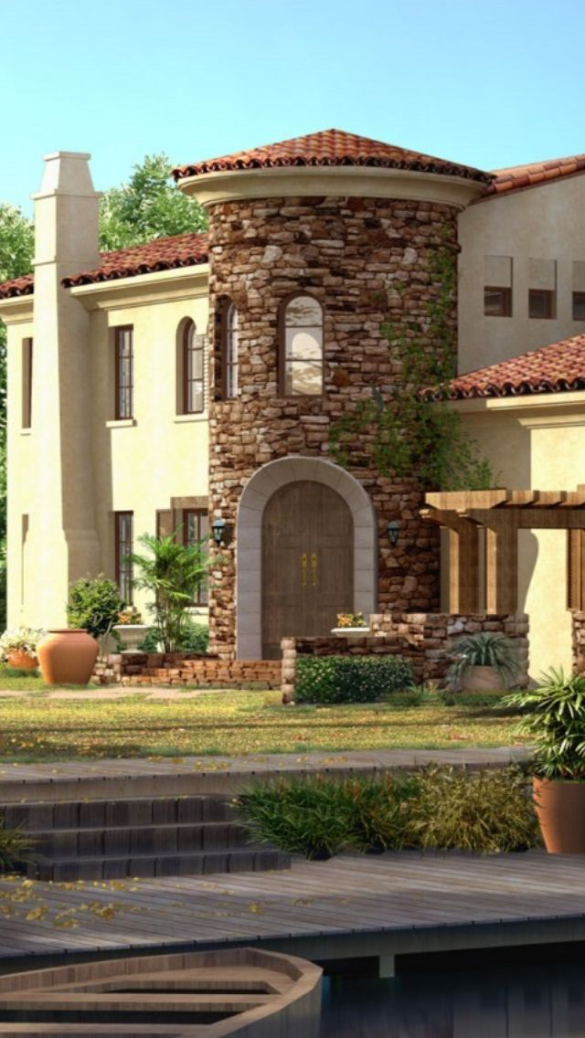 Luxury spanish style home homes pinterest for Luxury spanish style homes