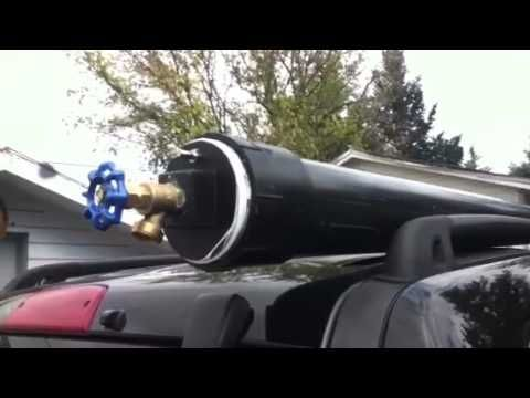 One could use this on top of your suv when boondocking! You can pressurize it with a bicycle pump!