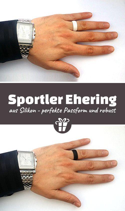 iQ-RING® Sport Ehering in WEISS, SCHWARZ und PINK - aus hochqualitativem medizinischem Silikon - flexibel und robust, auch in weiß, für Sportler, für Mann und Frau - Den 2. Ring mit 5 EUR RABATT bestellen - Geschenkideen zum Jahrestag | Geschenkideen für den Partner (*Partner-Link)