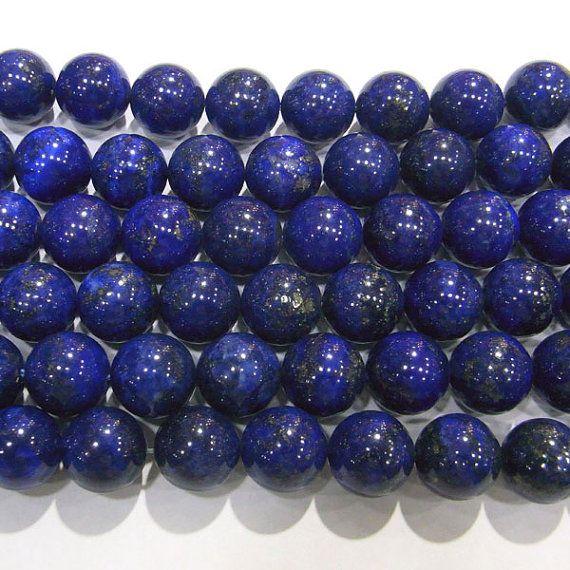 12mm Lapis Lazuli Round Finest Quality AAAA Grade Afghanistan -5268 15''L Semiprecious Gemstone  Jewelry Supply Wholesale Beads