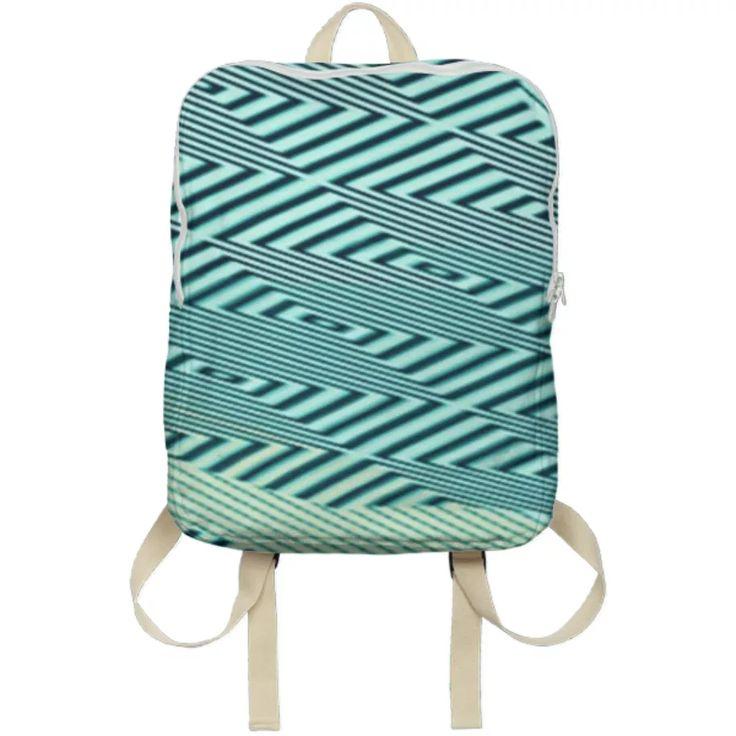 Shop zigzag Backpack by Kamo Vamo | Print All Over Me
