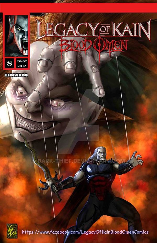 Legacy of Kain - Blood omen comics #8 -cover by Dark-thief.deviantart.com on @DeviantArt