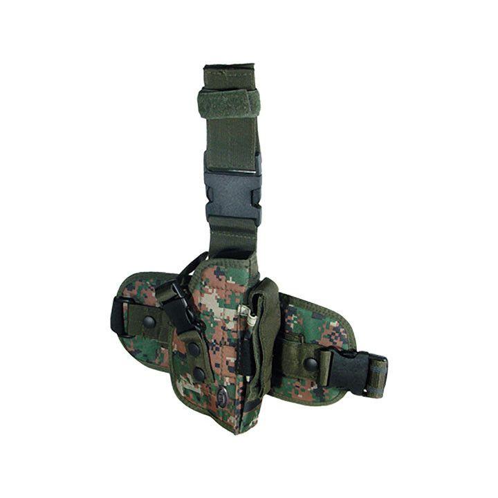UTG Special Ops Universal Leg Holster - Gen II Woodland Digital