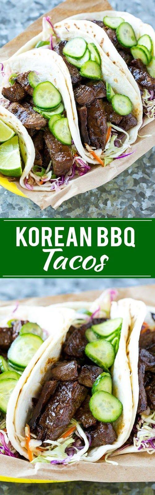 Korean BBQ Tacos | Food And Cake Recipes