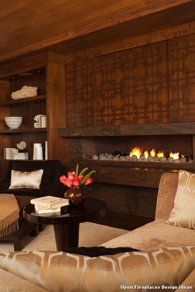 Open Fireplaces Design Ideas Contemporary by Michael Fullen Design ...