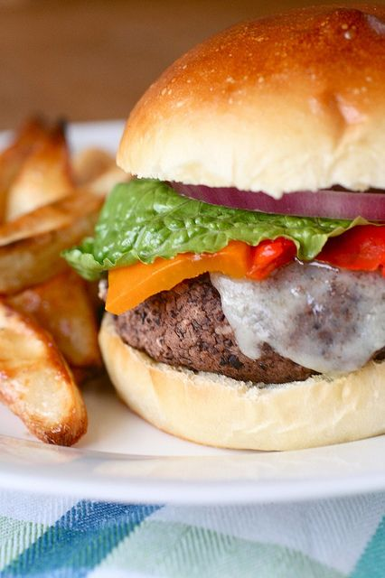 Black Bean Burgers | Black Bean Burgers, Black Beans and ...